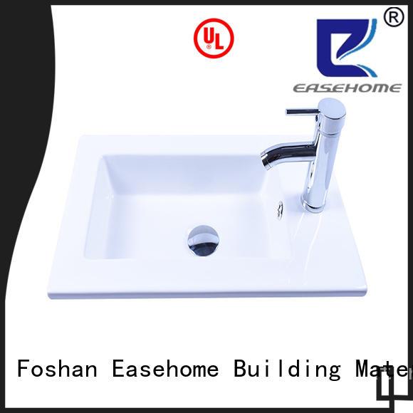 durable clean white porcelain sink wholesale hotel