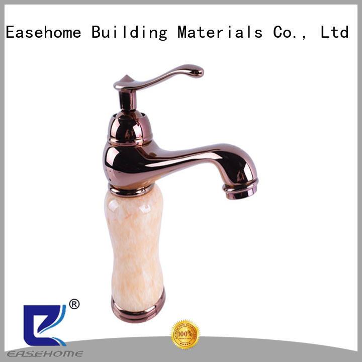 Easehome single hole bathroom sink faucets fair trade shower