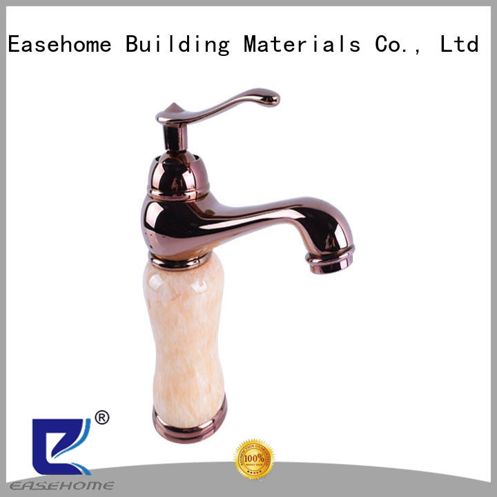Easehome single hole bathroom sink faucets fair trade shower