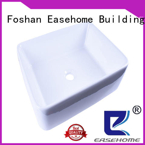 Easehome durable porcelain basin good price hotel