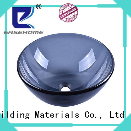 colorful tempered glass vessel sink square shape best price apartments