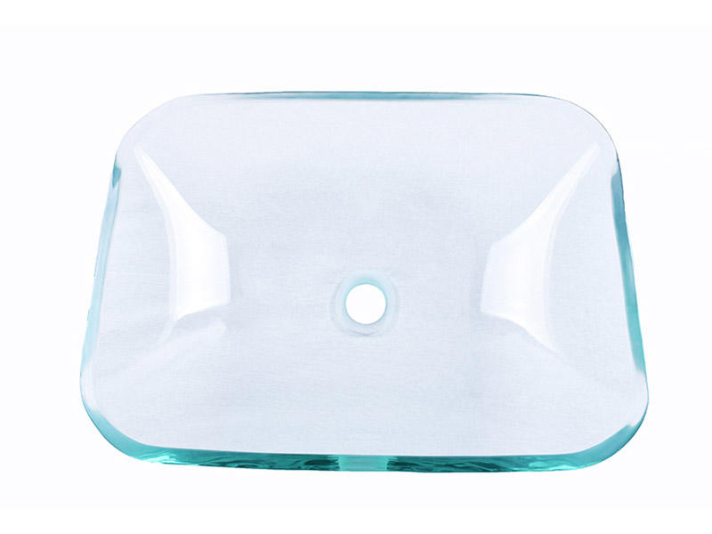 colorful glass vessel sinks bowl round customization bathroom