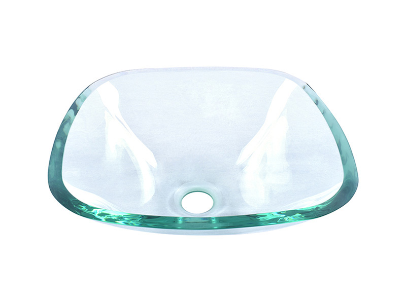 Easehome crystal glass bowl sink best price bathroom-8