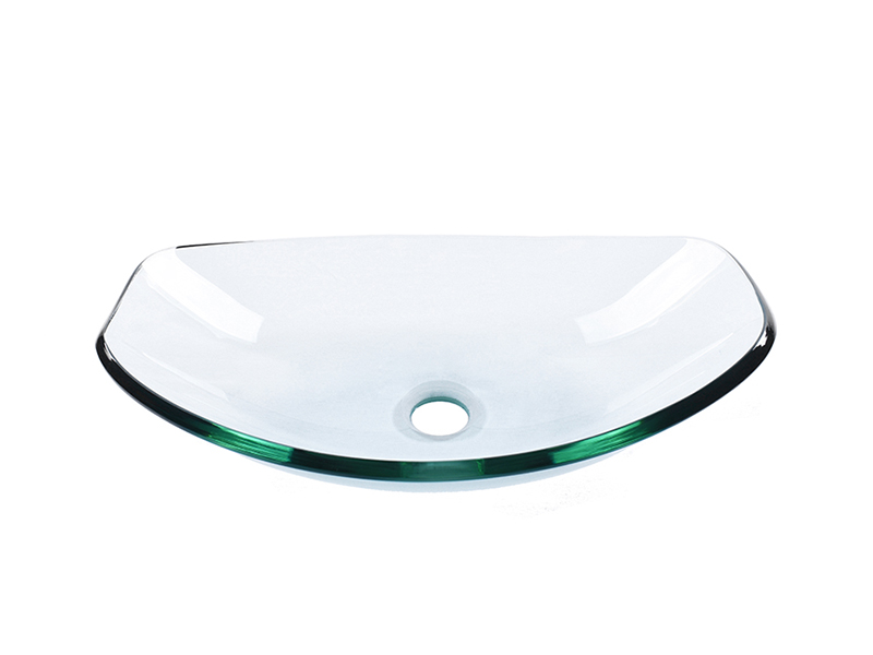 Easehome colorful glass bathroom sink best price washroom-1