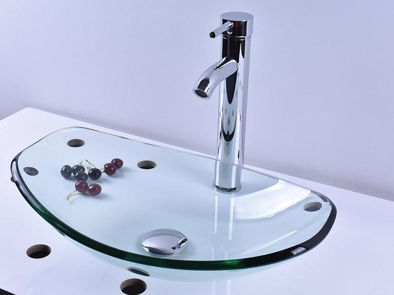 Easehome colorful glass bathroom sink best price washroom