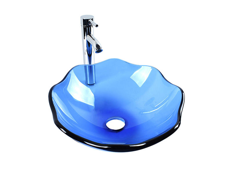 Easehome colorful black glass sink best price apartments