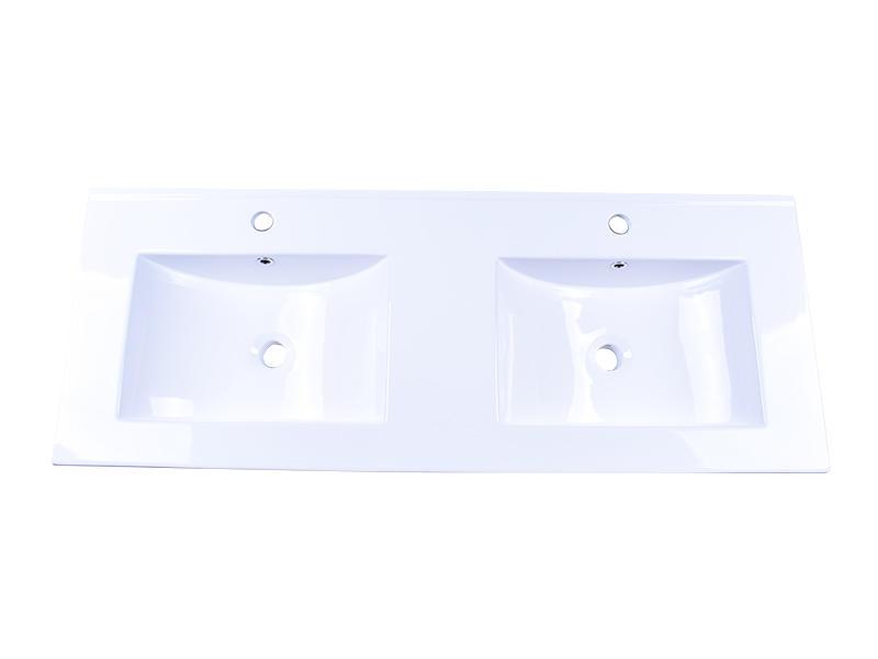 Easehome rectangle white porcelain sink wholesale hotel-1