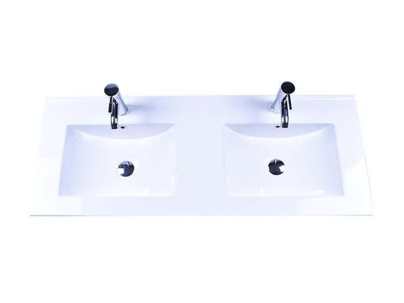 Easehome rectangle white porcelain sink wholesale hotel-2