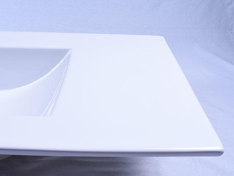 modern porcelain basin sink pure white wholesale restaurant
