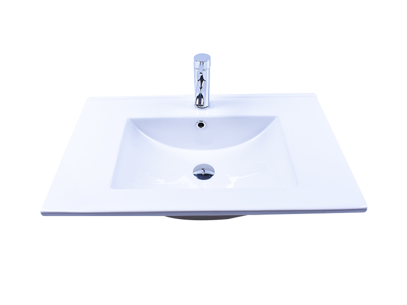 Easehome chrome round porcelain sink good price restaurant-1