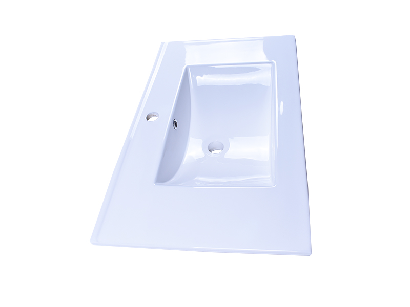 Easehome chrome round porcelain sink good price restaurant-2