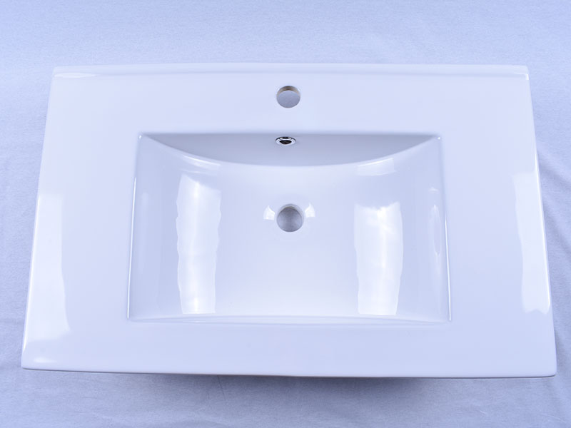modern how to clean porcelain sink double bowl awarded supplier hotel-5
