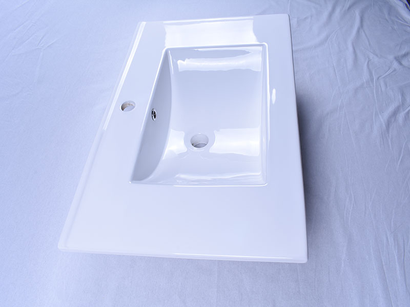 modern how to clean porcelain sink double bowl awarded supplier hotel-6