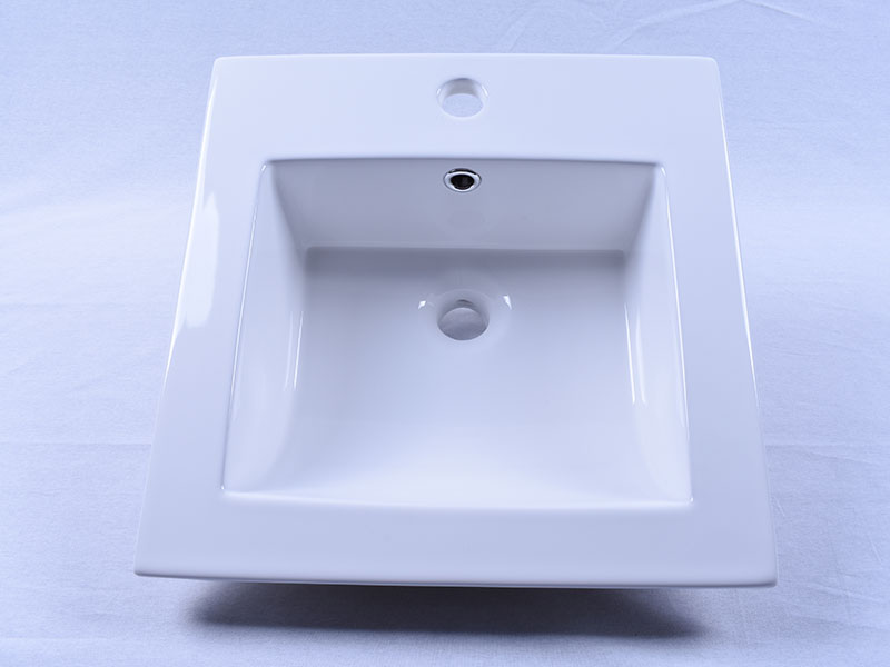 oem how to clean porcelain sink pure white wholesale restaurant-5