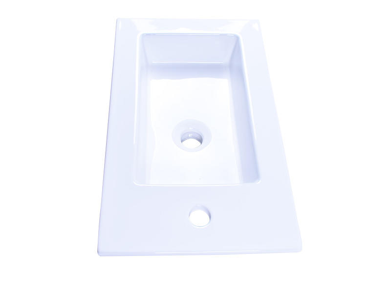 Easehome modern porcelain undermount bathroom sink wholesale restaurant