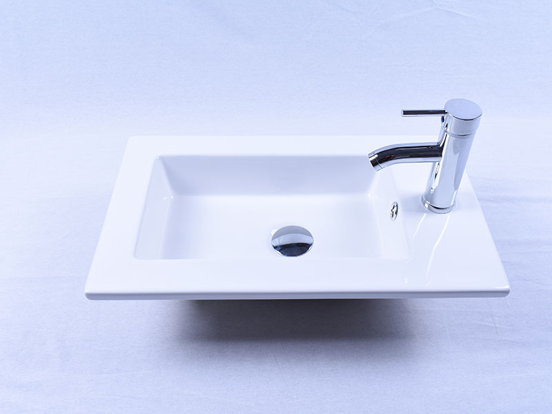 Easehome modern porcelain undermount bathroom sink wholesale restaurant-5