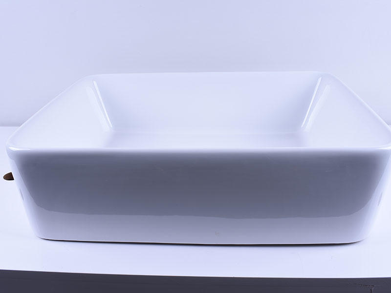 durable ceramic art basin pure white awarded supplier restaurant