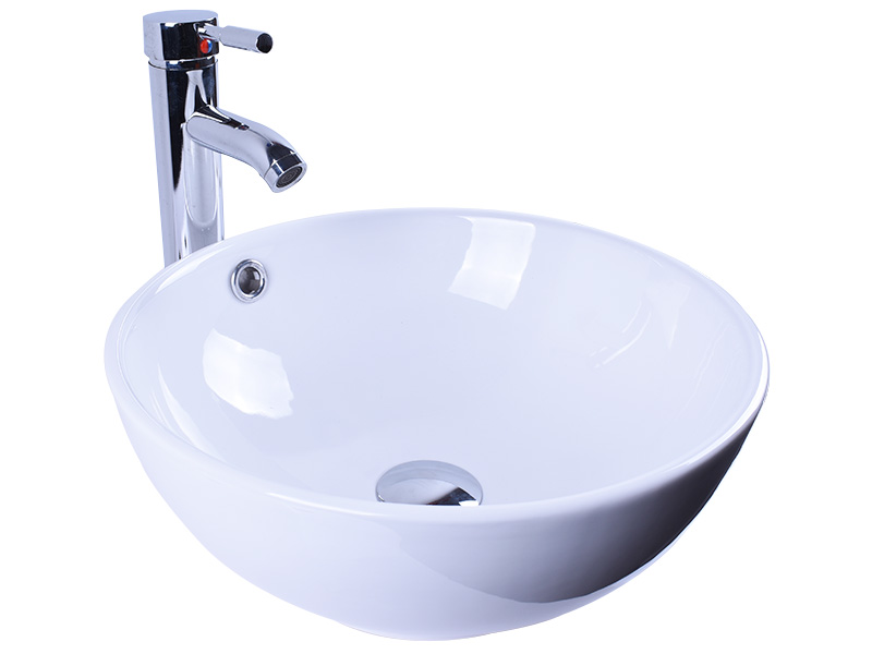 rectangle white porcelain kitchen sink wholesale home-use Easehome-4