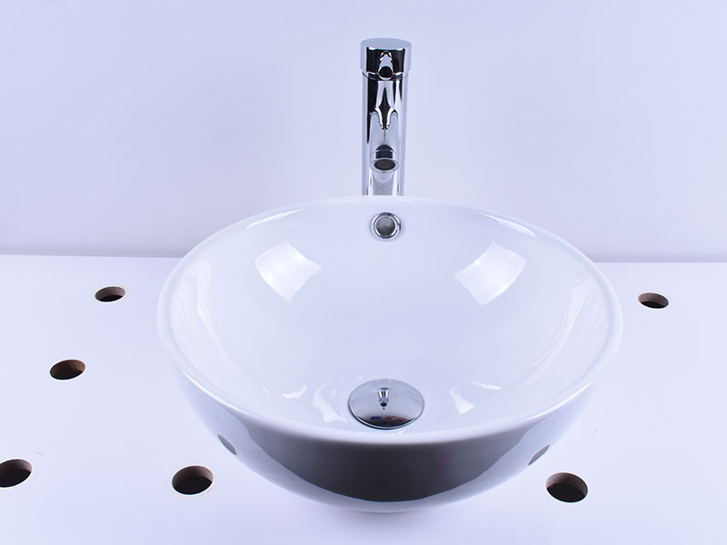 rectangle white porcelain kitchen sink wholesale home-use Easehome-8
