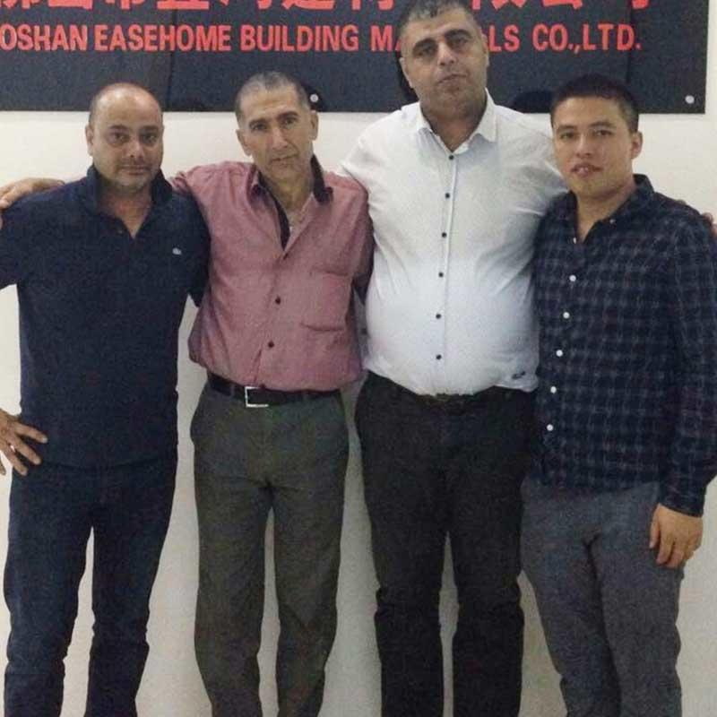Cabinet basin order client Mr Amal from Israel