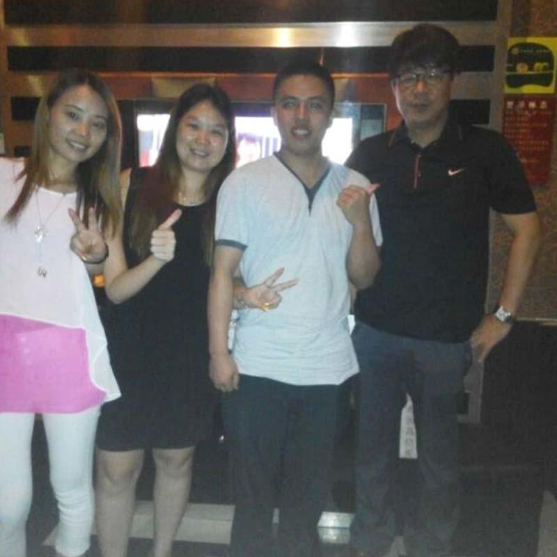 With Jay from South Korea for his Phillipines hotel project