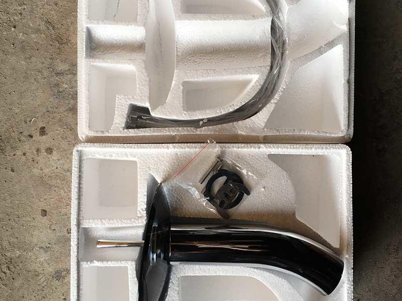 Packages of faucets