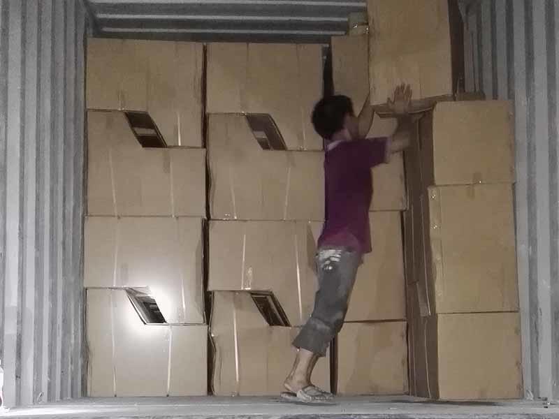 Toilet loading