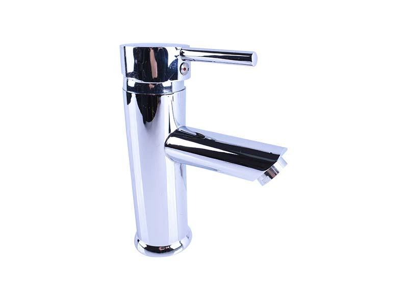 Round Shaped Medium Body Commercial Sink Faucet Mixer Tap With Hoses