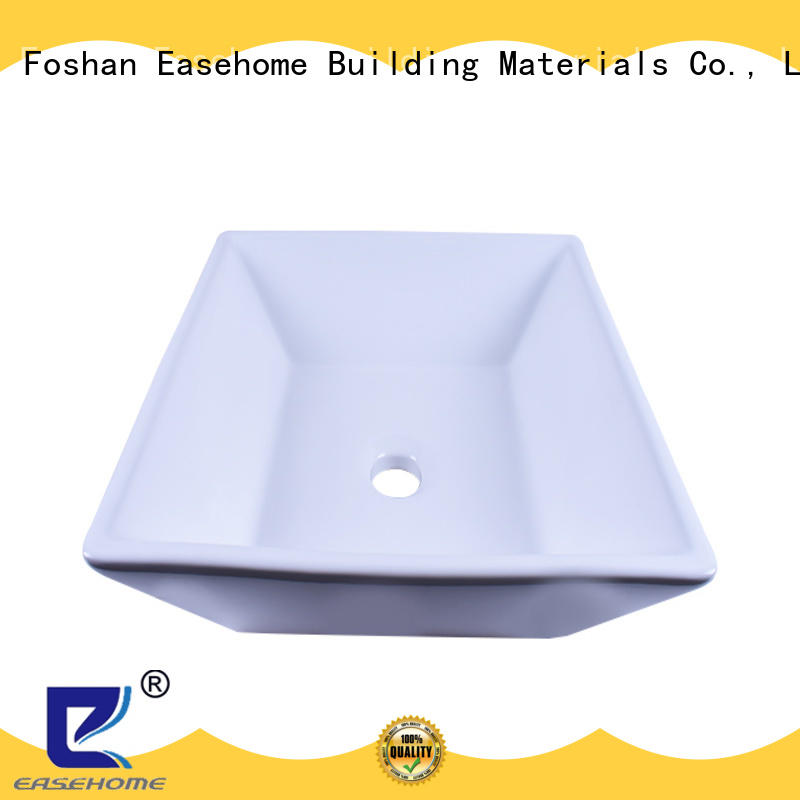Easehome durable porcelain bowl sink chrome home-use