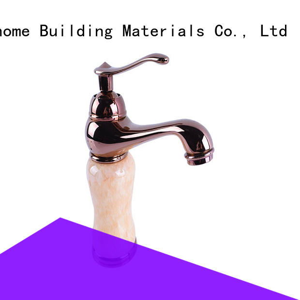 Easehome medium body stainless steel sink faucet unique design bathroom