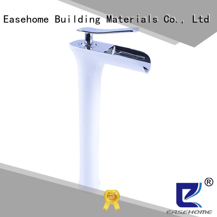Easehome luxury pull out kitchen faucet rose golden bathroom