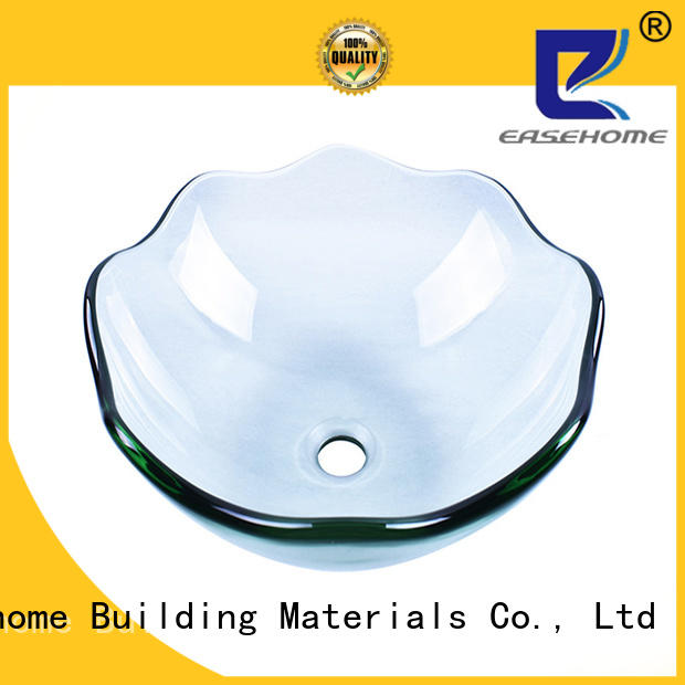Easehome bowl round glass vessel customization apartments