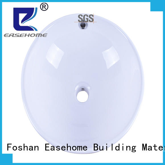 rectangle white porcelain kitchen sink wholesale home-use Easehome