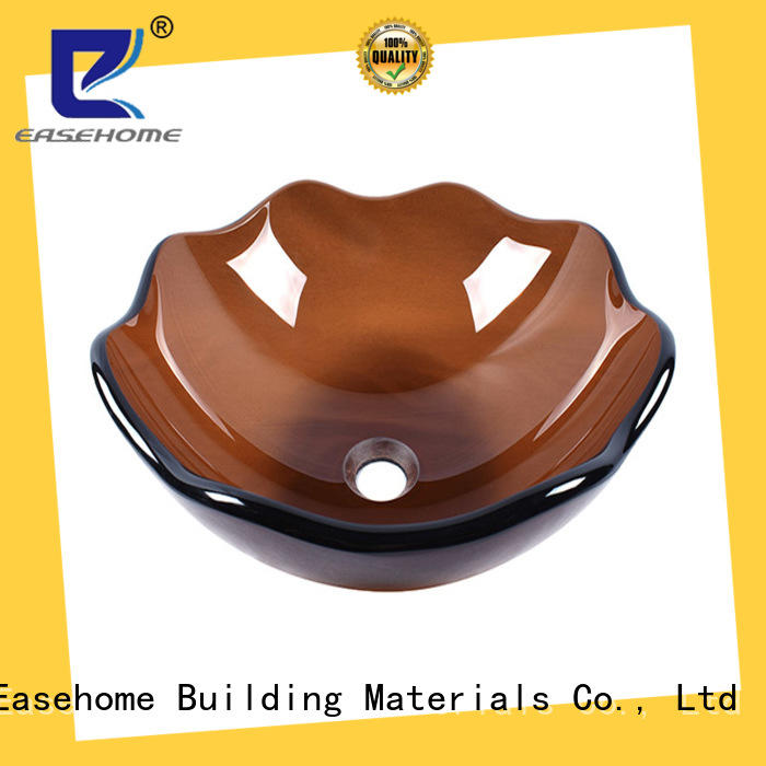 Easehome chromed glass bathroom sink best price apartments