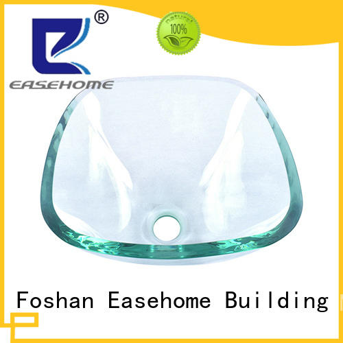 Easehome bronze color glass bathroom sink bowls trendy design bathroom