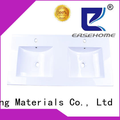 Easehome rectangle porcelain undermount bathroom sink bulk purchase restaurant