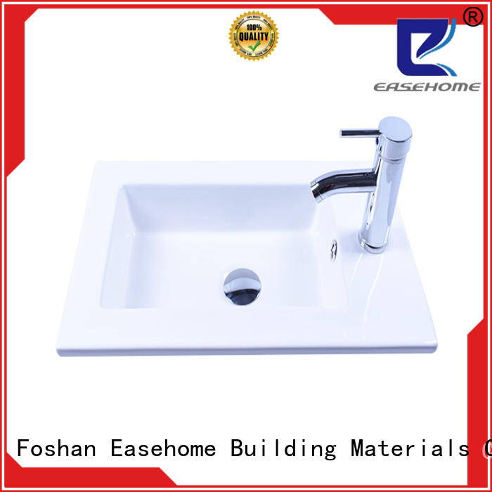 Easehome rectangle ceramic basin awarded supplier home-use