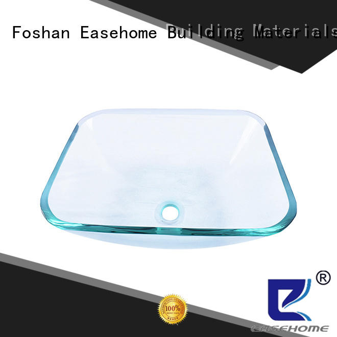 Easehome rectangular glass bathroom sink bowls best price apartments