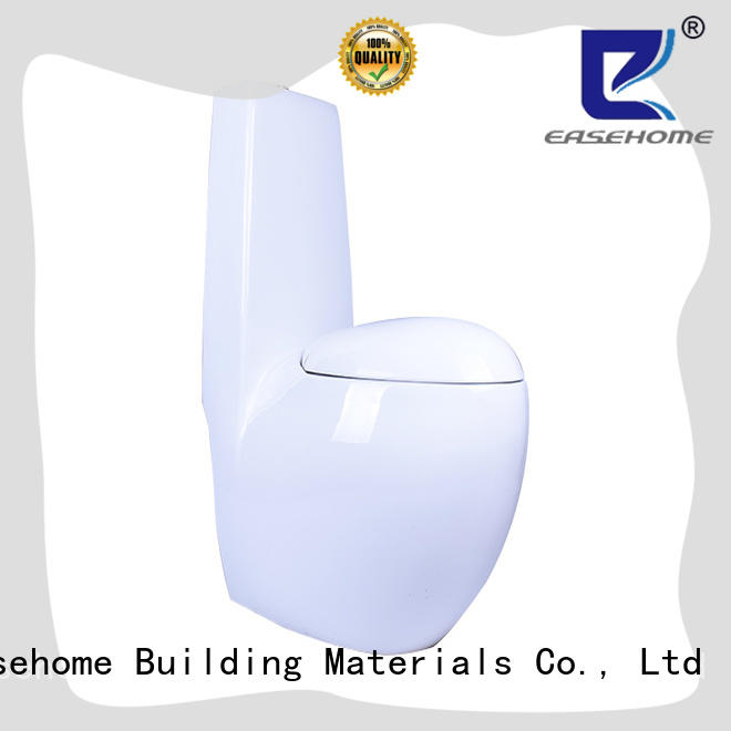 Easehome customized one piece toilet fast shipping hotel