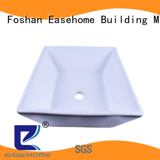 Easehome durable ceramic art basin wholesale restaurant