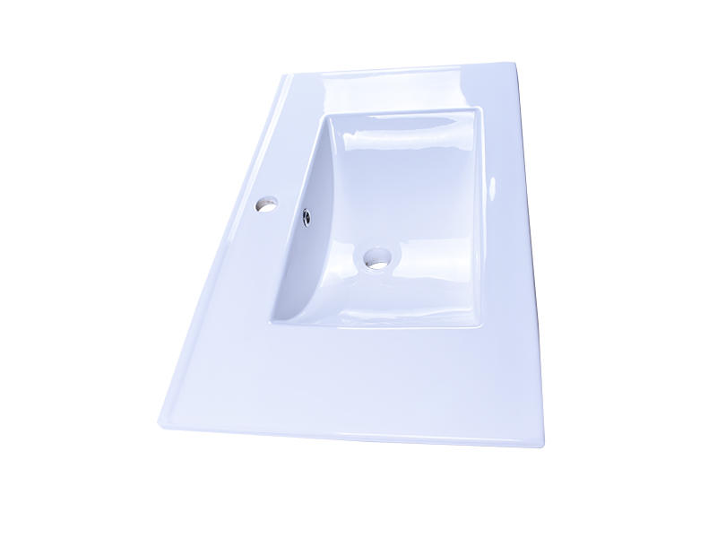 modern how to clean porcelain sink double bowl awarded supplier hotel-2
