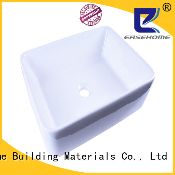 Easehome round bowl round porcelain sink wholesale home-use