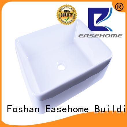 durable ceramic art basin pure white awarded supplier restaurant