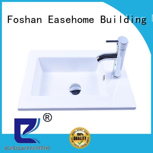 Easehome ceramic porcelain basin sink bulk purchase hotel
