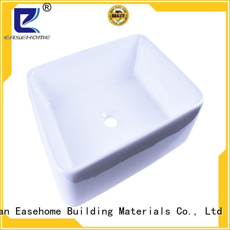 Easehome oem porcelain basin sink bulk purchase restaurant