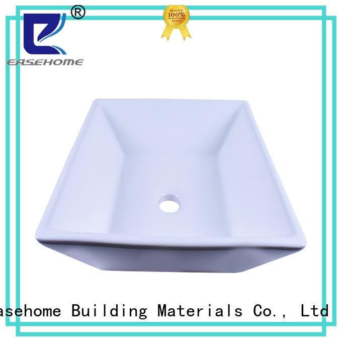 Easehome durable white porcelain basin bulk purchase home-use