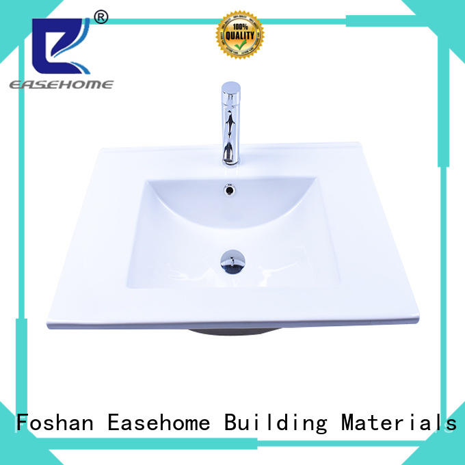 Easehome modern how to clean white porcelain sink wholesale restaurant