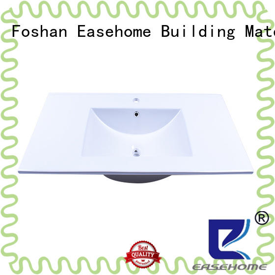 Easehome oem porcelain undermount bathroom sink round bowl home-use