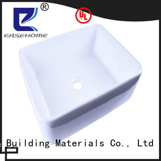 Easehome oem ceramic hand wash basin one piece home-use
