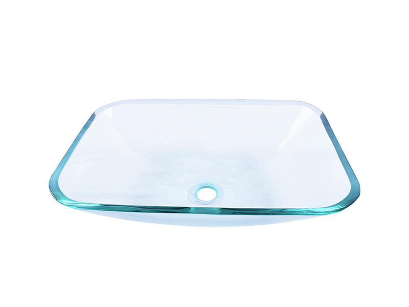 colorful glass vessel sinks bowl round customization bathroom-1